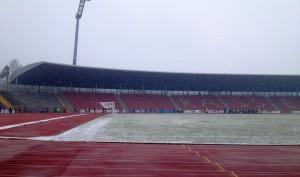 Stadioneinlauf
