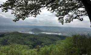 Ein Blick von der Silberklippe in Richtung Eschwege