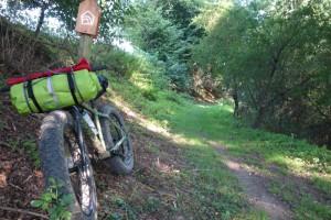 Im Trail hinter Simmershausen