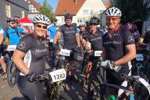 Auf der 37km Distanz unterwegs: Nicole, Thomas, WD, Stefan und Ingo