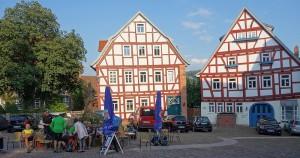 Der Marktplatz in Schlitz