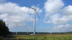 Jede Menge Windräder im Vogelsberg