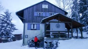 Die kleine, urgemütliche DAV-Hütte