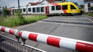 Ende unserer Tour in Albshausen und unser Zug nach Gießen