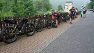 Unser Start am Sonntagmorgen in Balduinstein