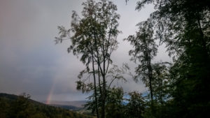 Auch Regen hat seine schönen Seiten